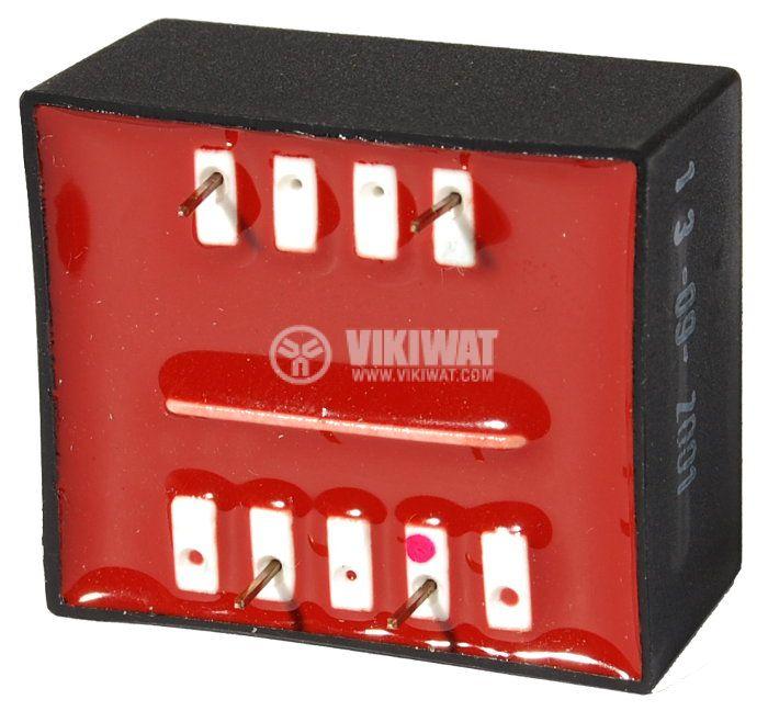 Tрансформатор за печатен монтаж 15 VAC, 1.5 VA - 2