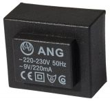 Tрансформатор за печатен монтаж 230 / 9 VAC, 2 VA