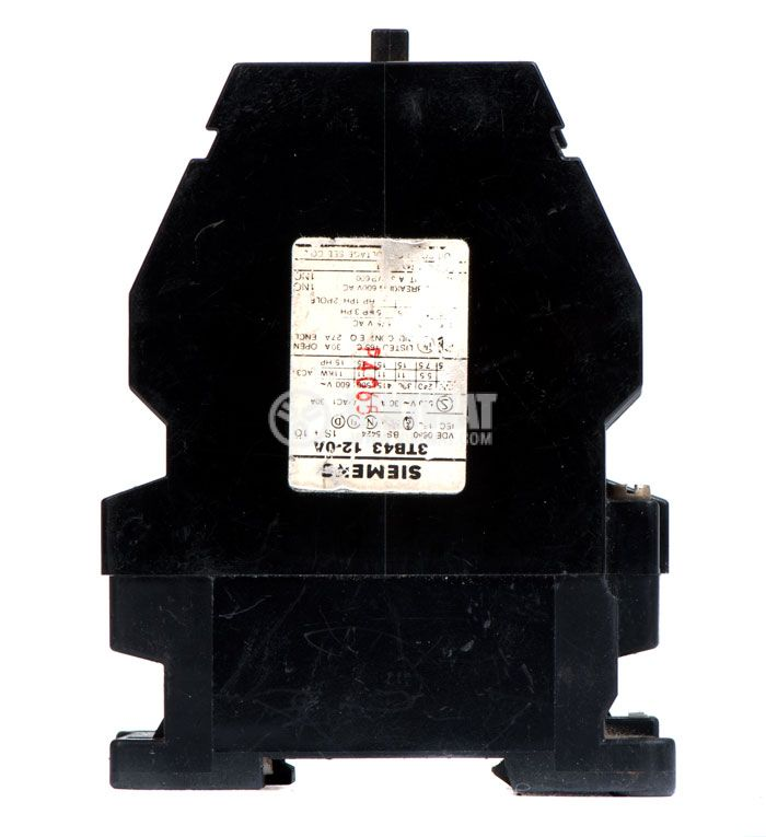 Contactor, three-pole, coil  24VAC, 3PST - 3NO, 22.5A, 3TB43 12-0A, NO+NC - 3