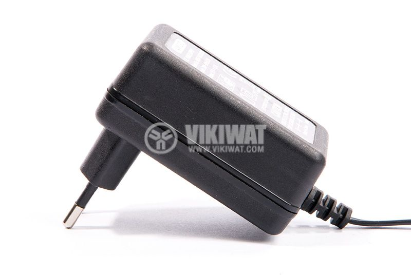 Adapter 100-240VAC, 15VDC, 1,2A, AC-DC stabilized, 5.5x2.1mm - 4