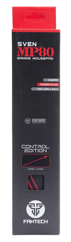 Подложка за мишка FanTech MP80, 800 x 300 x 3mm, дълга - 4