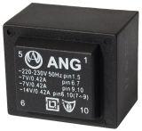 Tрансформатор за печатен монтаж 230 /  2 х 7 VAC, 6 VA