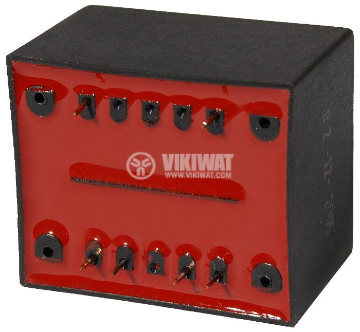 Tрансформатор за печатен монтаж 230/ 2 х 9 VAC, 6 VA - 2