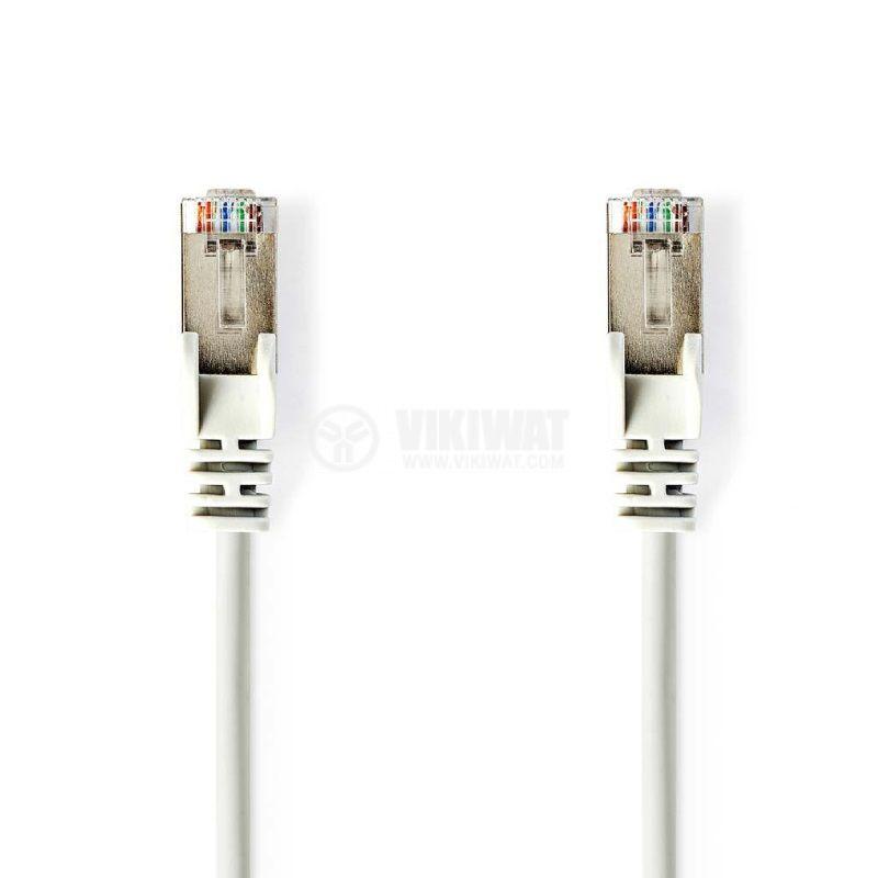 LAN кабел, категория 6, CCGP85200WT200, 20m, RJ45 към RJ45 - 1