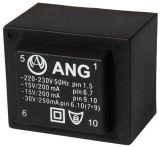 PCB Transformer 230/ 2 x 15 VAC, 6 VA