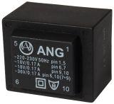 Tрансформатор за печатен монтаж 2 х 18 VAC, 6 VA