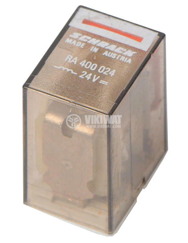 Electromechanical Relay SCHRACK RA 400 024 coil 24VDC 5A 4NO + 4NC - 1