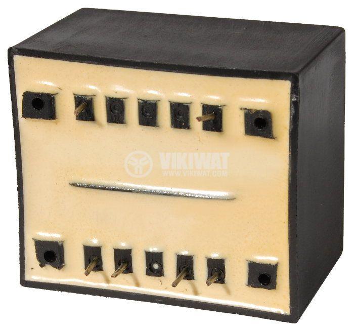 Tрансформатор за печатен монтаж 230 / 2 х 24 VAC, 6 VA - 2