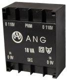 Трансформатор за печатен монтаж 230 / 2 х 9 VAC 18 VA