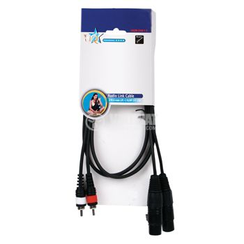 Professional Cable, HQM-246, 2xCANON/f-2xRCA/m, 1.5 m - 2