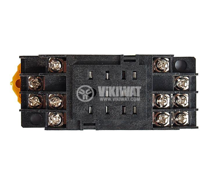 Цокъл за реле PYF 11A 300VAC 10А 11pin - 3