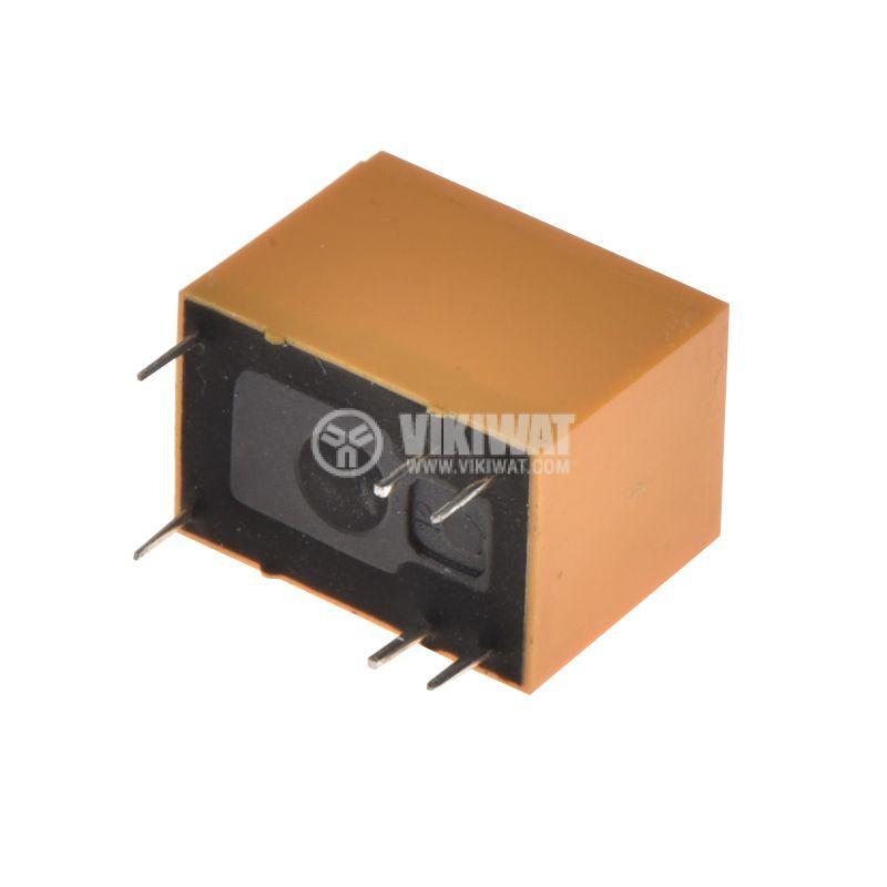 Реле електромагнитно JRC-21F, бобина 24VDC, 250VAC/0.5A, SPDT - NO+NC - 2
