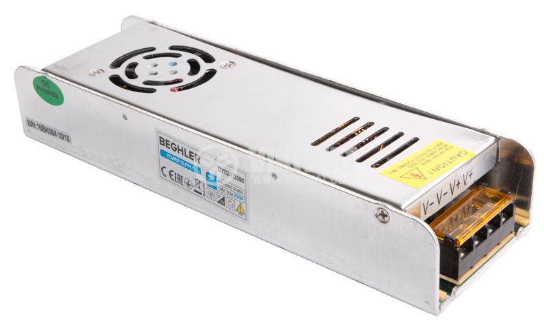 Power Supply BY02-3500, 220-240VAC, 30A, 350W, IP20 - 2