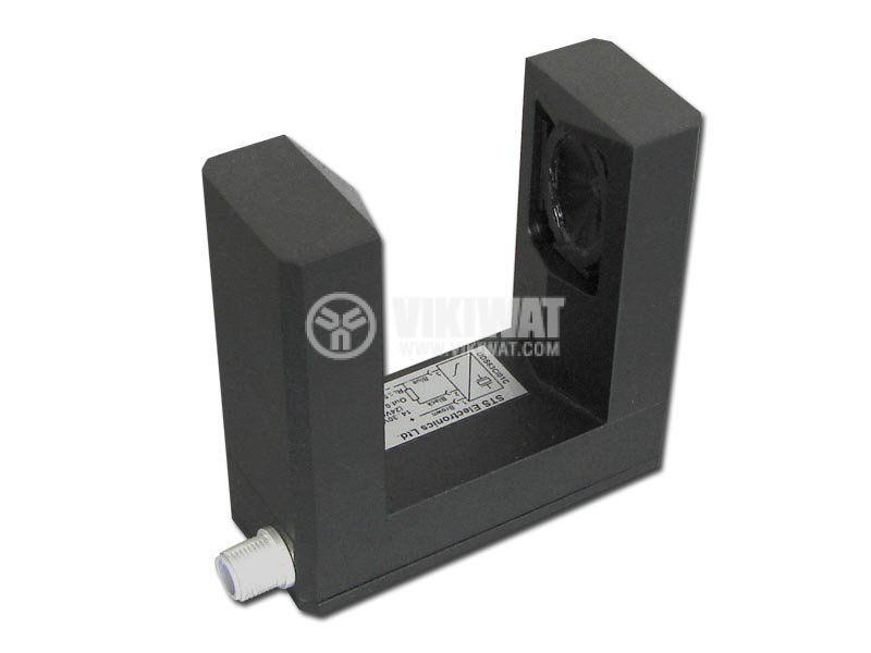 Ултразвуков датчик, UDS63AC5C, 14-30 VDC аналогов изход 0-10 V - 1