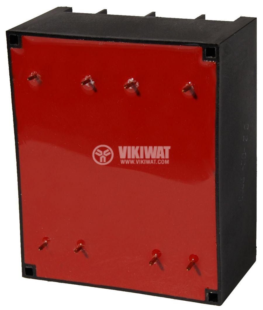Tрансформатор за печатен монтаж 230 / 2 x 9 VAC, 24 VA - 2
