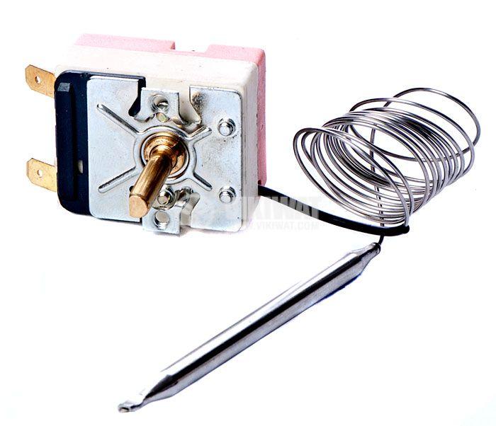Терморегулатор, капилярен, ТРМ1285, от +12 °C до +85 °C, NC, 16 A / 250 VAC - 1