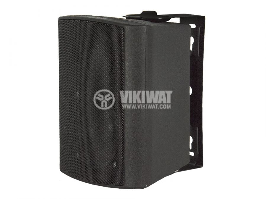 Wall speaker SW-105B, BLACK, PVC, 30W - 1