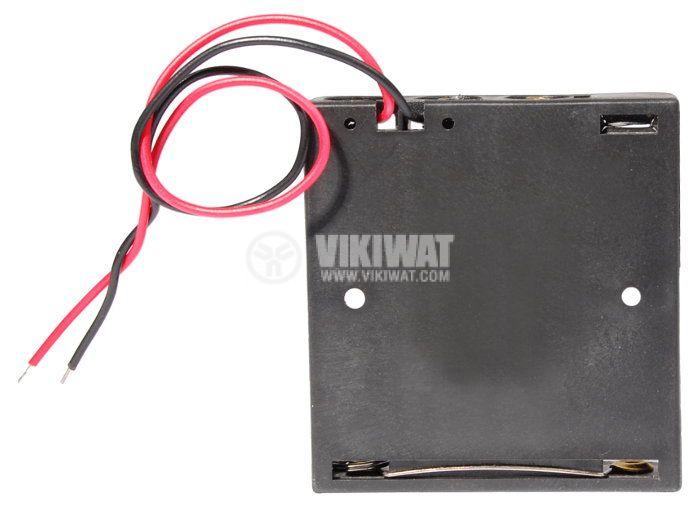 Държач за батерии, AAAx4 - 3