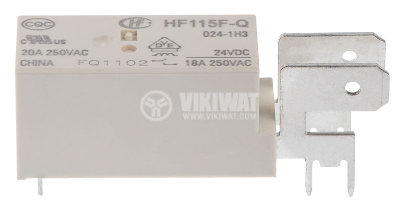 Electromagnetic relay 24VDC/20A - 3