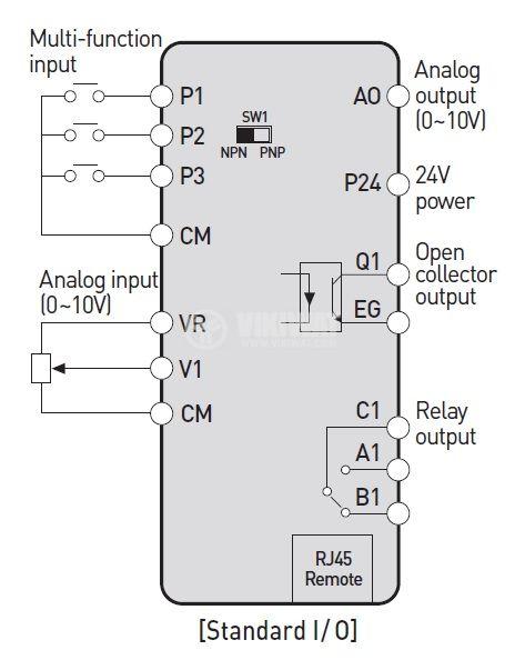 Frequency inverter LSLV0015M-100-1EOFNS - 2