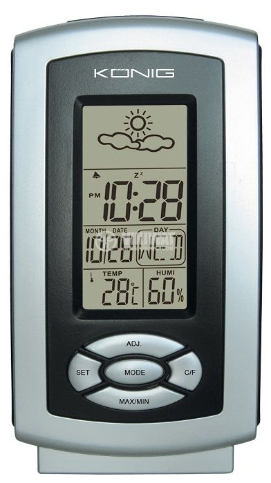 Weather station with thermo and hygrometer KN-W100 - 2