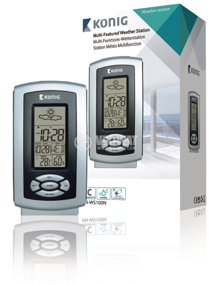 Метеостанция с термометър и хидрометър - 2