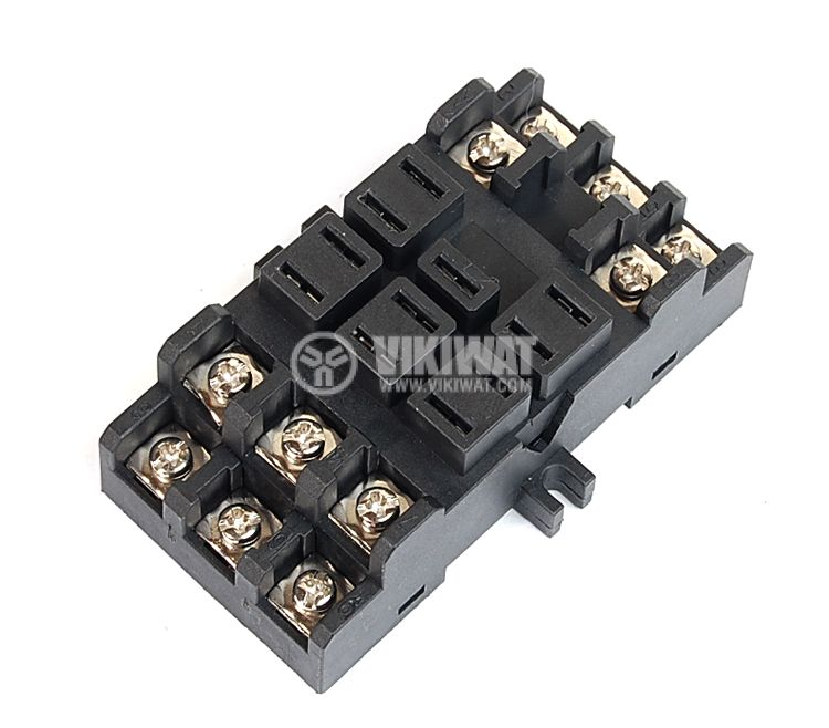 Цокъл за реле 38F11A, 300 VAC, 50 А, 11pin - 1