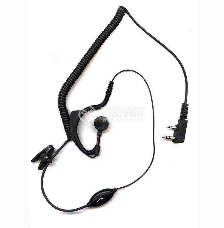 Слушалка с микрофон 3.5mm, 2.5mm