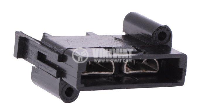 Държач  за предпазител,19mm - 2