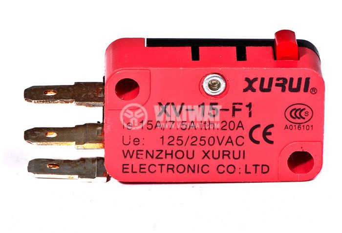 Микрек XV-15-F1, 7.5 A, 250 V, незадържащ - 2