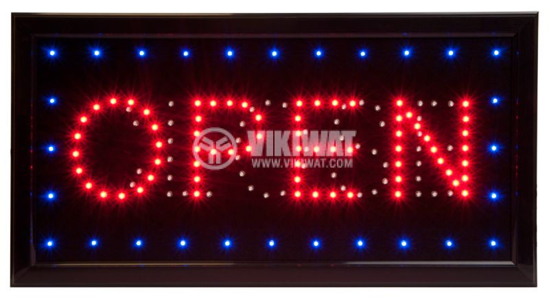 "LED panel ""OPEN - CLOSE"" - 1"