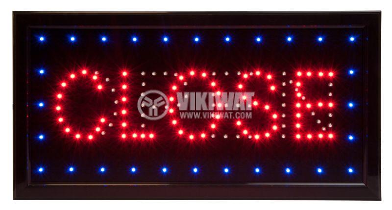 "LED panel ""OPEN - CLOSE"" - 2"
