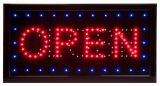 "LED panel ""OPEN - CLOSE"""