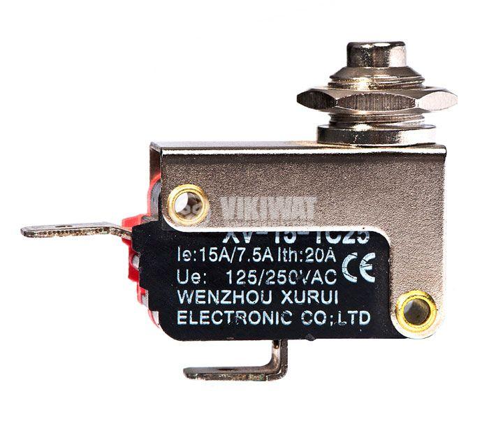 Микропревключвател с панелен бутон - 1