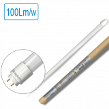 LED tube SE, 600mm, 9W, 220VAC, 900lm, 6500K, cool white, G13, T8, single-end, BA52-20683