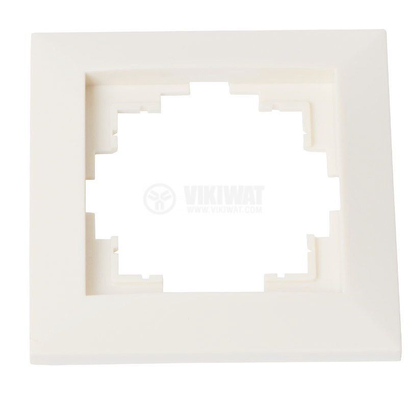 Electrical Switch Frame, LM60001, PVC, white