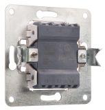 Electric Switch, white, LEXA 250 VAC, 10 A - 2