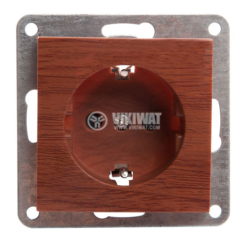 Електрически контакт, шуко, LM60021P - 1