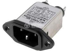 EMI filter FYB10T1, 2x0.3mH, 125/250VAC, 10A