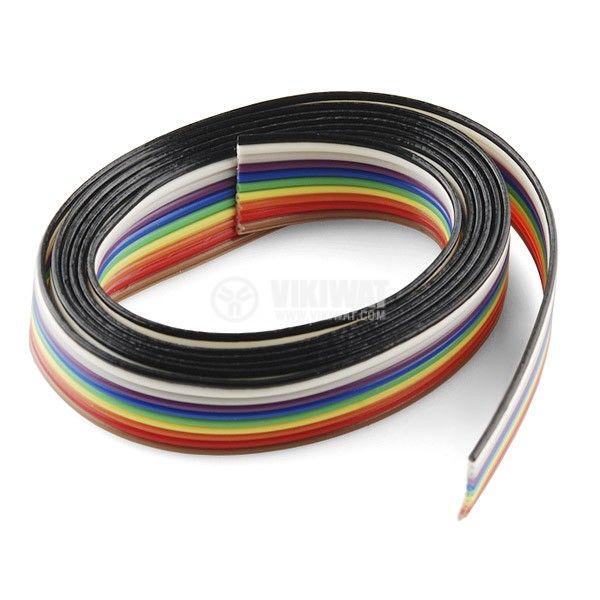 Лентов кабел ЛМПВГ 10x0.5mm2