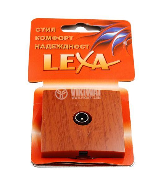 Телевизионна розетка Lexa TV