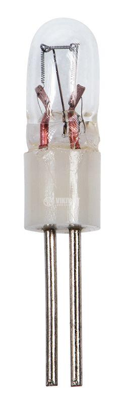 Свръхминиатюрна лампа за машини, 28V, 24mA, BI-PIN