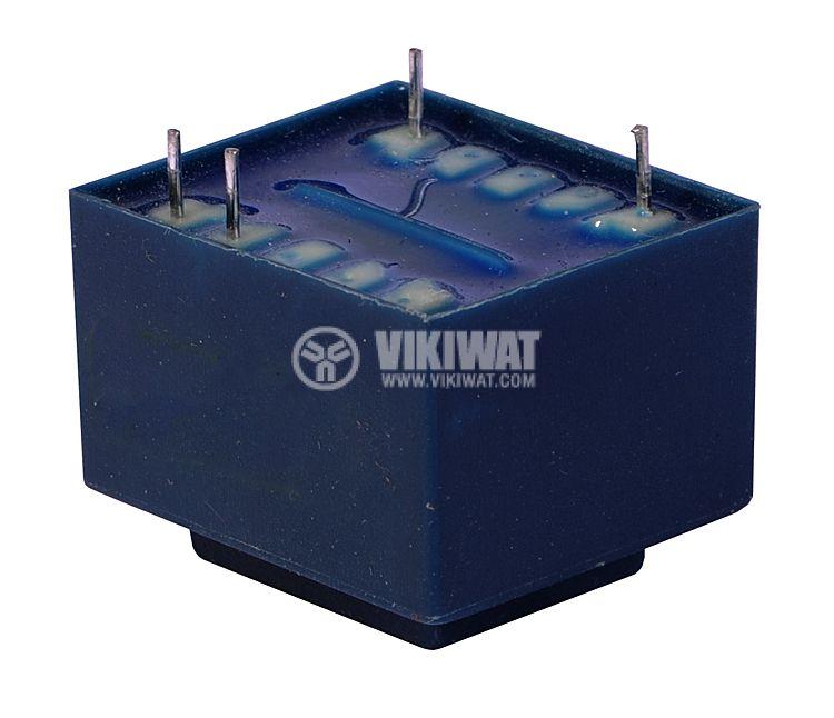 Трансформатор за печатен монтаж 230 / 9 VAC, 1.5 VA - 2