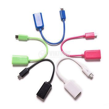 OTG cable micro USB - USB Female - 1