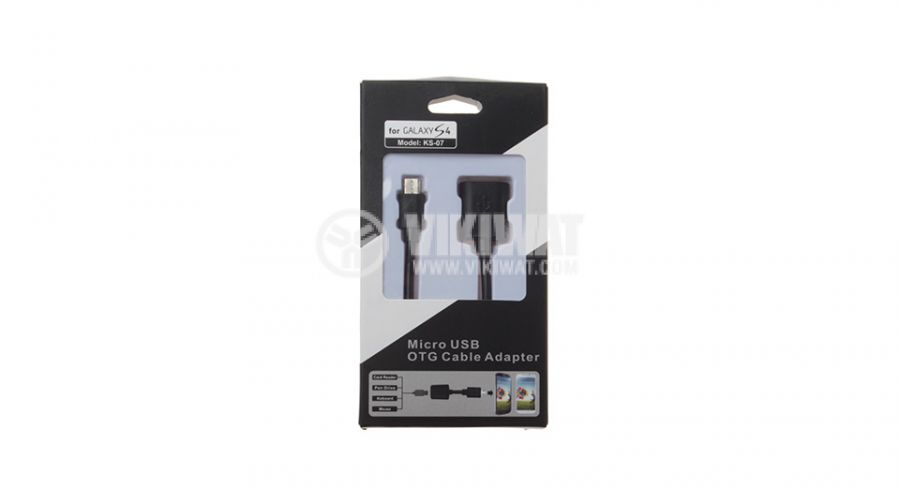 OTG cable micro USB - USB Female - 3