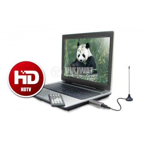 Цифров тунер за HD телевизия DVB-T USB DELUXE - 5