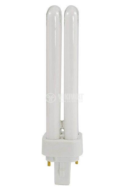 Луминесцентна лампа, PL-C, 2P/840, 18W, 220VAC, 6400K - 1