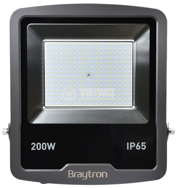 LED floodlight 200W, 220VAC, 16000lm, 3000K, warm white,  IP65, waterproof, SLIM, BT61-09602 - 4