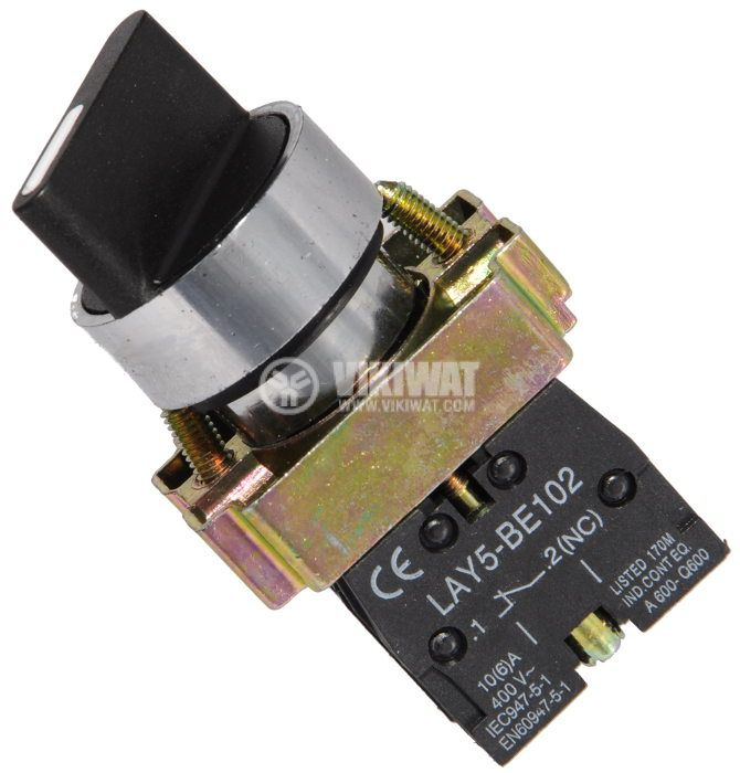 Panel Mount Switch Rotary ф22mm 10a240vac 2 Position