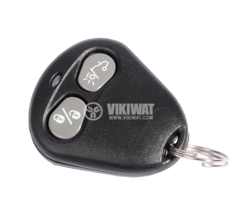 Shell case for remote control Tx116, for car alarms Tesor 574